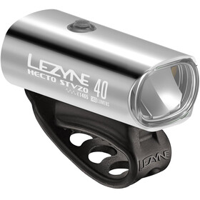 Lezyne Hecto Drive 40 Fietsverlichting StVZO Y11 zilver